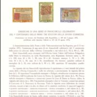 Bulletin - Italy - 1972 - Amministrazione delle Poste e delle Telecomunicazioni
