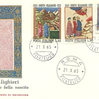 First Day Cover - Italy - 1965 - Tre Stelle