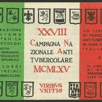 Cinderella Stamp - Campagna nazionale antitubercolare, 1965