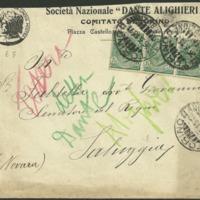 Envelope - Società Dante Alighieri, Comitato di Torino