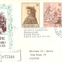 First Day Cover - Vatican City - 1965 - Roma