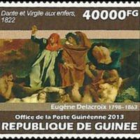 Postage Stamp - Guinea - 2013