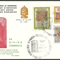 First Day Cover - Italy - 1972 - Grolla Club