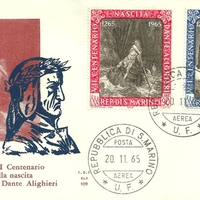 First Day Cover - San Marino - 1965 - ALA