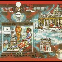 Miniature Sheet - Guinea - 1990