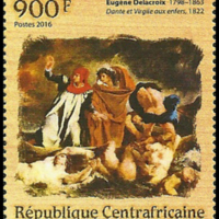 Postage Stamp - Central African Republic - 2016