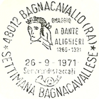 Cancellation - Italy (Bagnacavallo) - 1971 September 26
