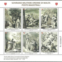 Miniature Sheet - Sovereign Military Order of Malta - 2014
