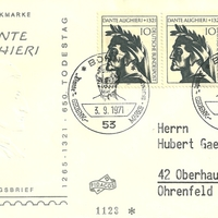 First Day Cover - Germany - 1971 - Fidacos