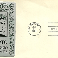 First Day Cover - United States - 1965 - Sarzin Metallics
