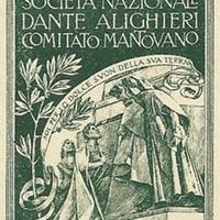 Poster Stamp - Società Dante Alighieri, Comitato mantovano