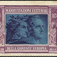 Poster Stamp - Manifestazioni culturali della gioventù europea