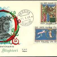 First Day Cover - Italy - 1965 - Siligato