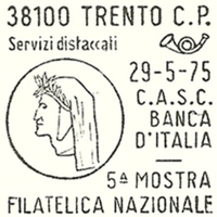 Cancellation - Italy (Trento) - 1975 May 29