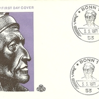 First Day Cover - Germany - 1971 - GH