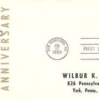 First Day Cover - United States - 1965 - Smith