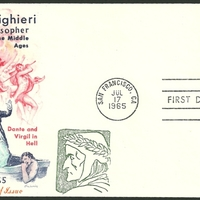 First Day Cover - United States - 1965 - Overseas Mailer