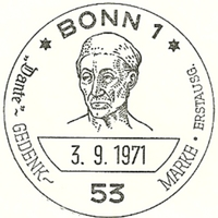 Cancellation - Germany (Bonn) - 1971 September 3