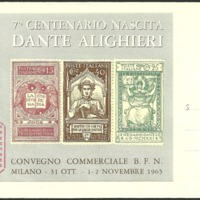 Cover - Italy - Convegno commerciale B.F.N. - 1965