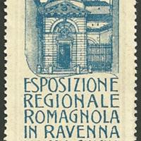 Poster Stamp - Esposizione regionale romagnola