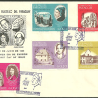 First Day Cover - Paraguay - Centro Filatélico del Paraguay