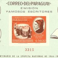 Miniature Sheet - Paraguay - 1966