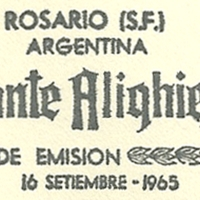 Cancellation - Argentina (Rosario) - 1965 September 16