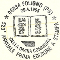Cancellation - Italy (Foligno) - 1995 April 29