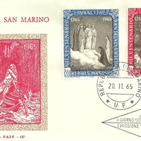 First Day Cover - San Marino - 1965 - F.A.I.P.