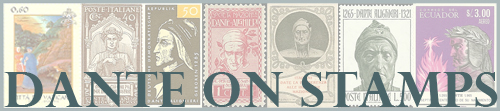 Dante on Stamps
